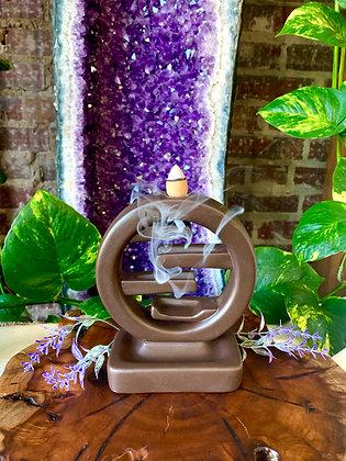 Feng Shui Ceramic Backflow Incense Burner