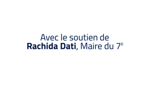 Avec le soutien de Rachida Dati
