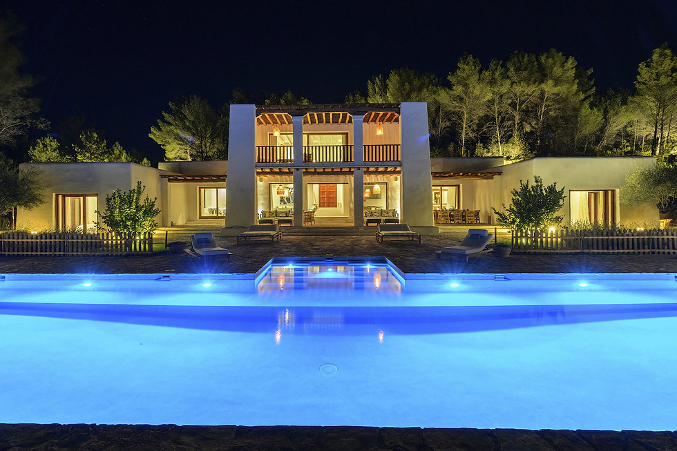 Smart home for luxury villas