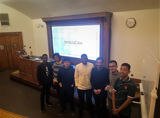 IntelliCasa at the Global Student Engineering Conference -  Smart Home IoT to Young Engineers