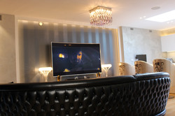 Automated TV room in Mayfair