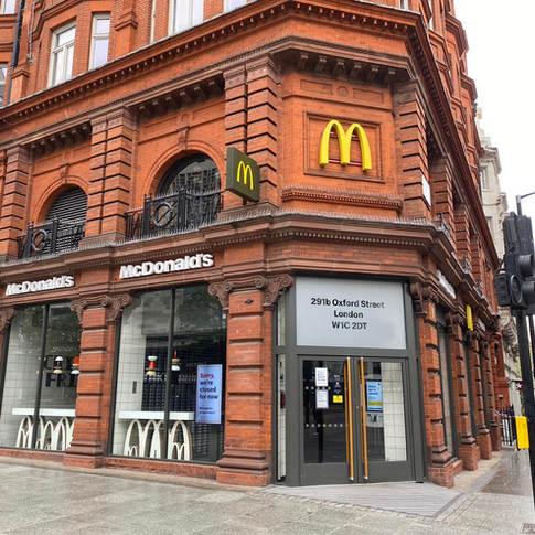 McDonald's, 291 Oxford Street- London (2019)