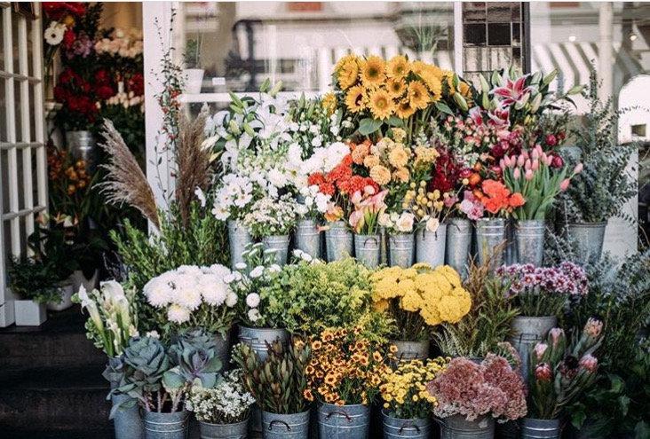 Le Bouquet Flower Shop, Union Street, San Francisco