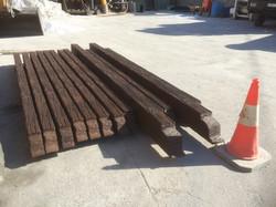 vigas de hormigón imitación madera