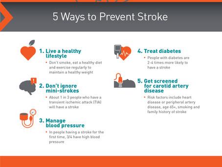5 Ways to Prevent Stroke