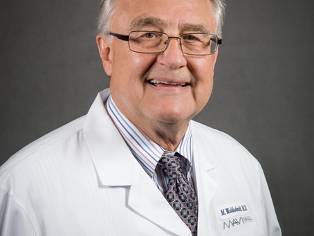 Congratulations to Dr. Mike Waldschmidt on his retirement