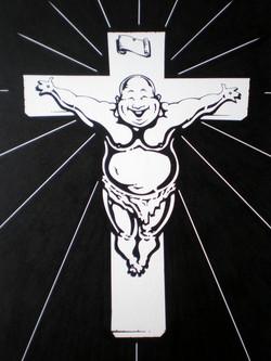 Crucified Buddah
