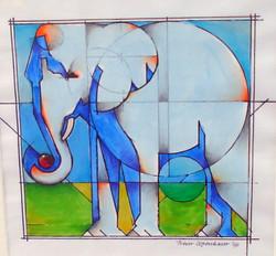 Small Elephant I