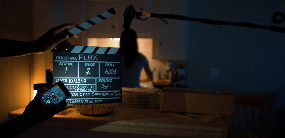 Behind The Scenes Slate