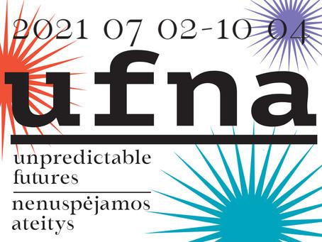 Kviečia 1–oji tarptautinė meno trienalė UNPREDICTABLE FUTURES/NENUSPĖJAMOS ATEITYS (UFNA)