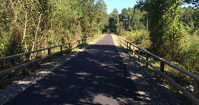 trail grading/paving
