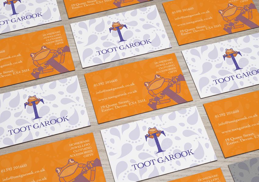 toot garook business cards
