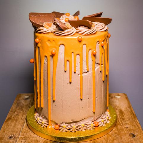 Kates Kakes Chocolate Orange Cake