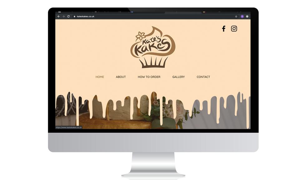 Kates kakes website