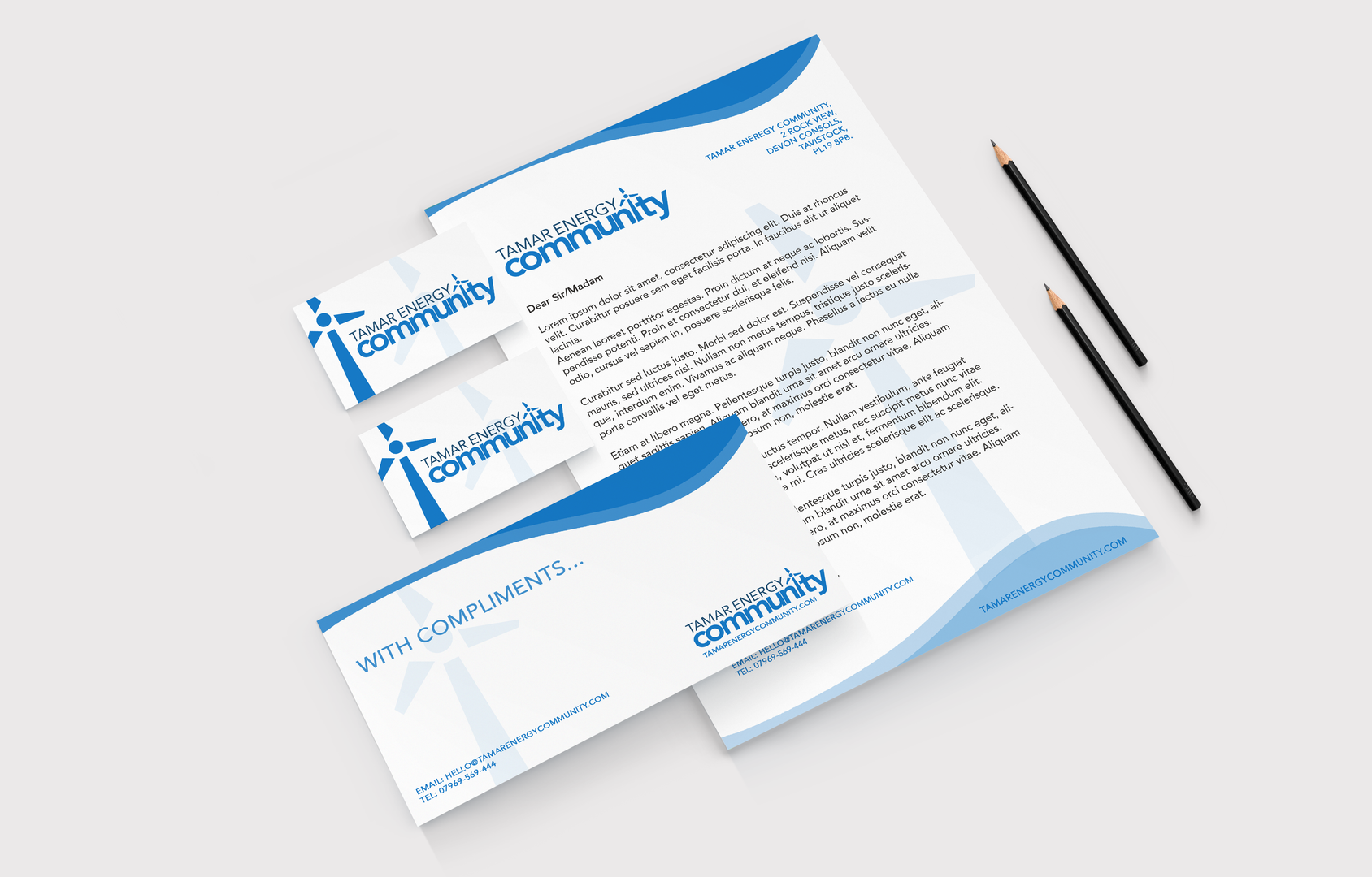 Designray tamar energy community project
