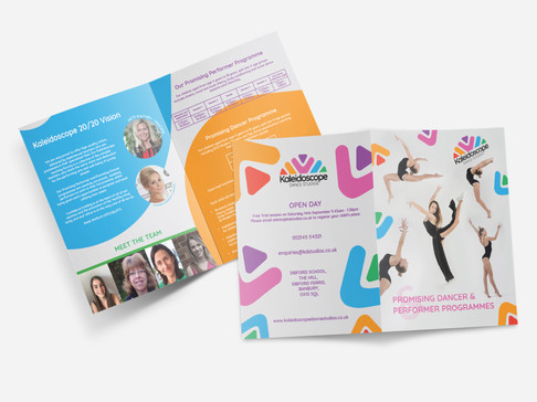 Designray kaleidoscope brochure