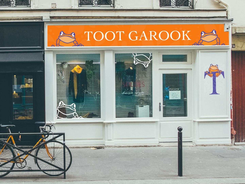 toot garook shop front