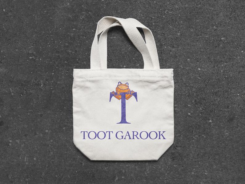 toot garook tote bag