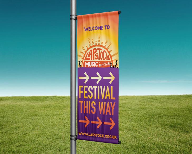 lapstock direction banner
