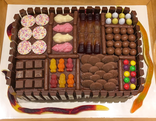 Kates Kakes Fully Loaded Chocolate Birthday Cake