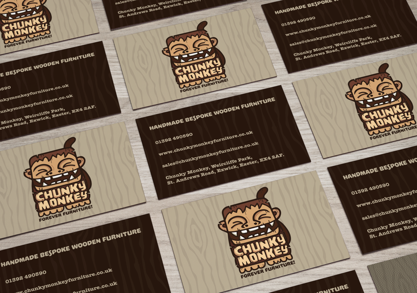 chunky monkey business cards