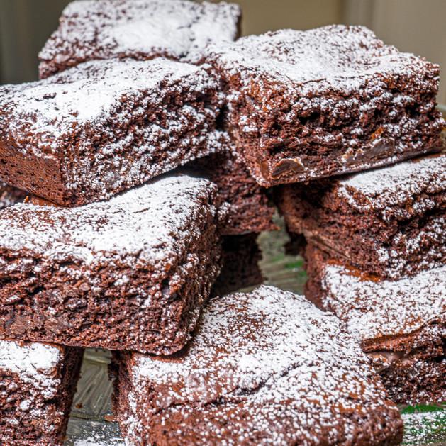 Kates Kakes Chocolate Chunk Brownies