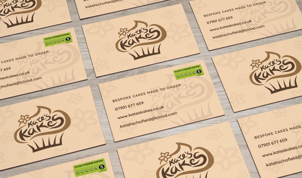 Designray kates kakes business cards