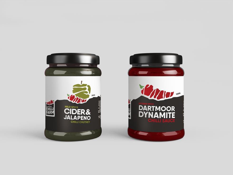 Designray Dartmoor Chilli Farm Rebrand