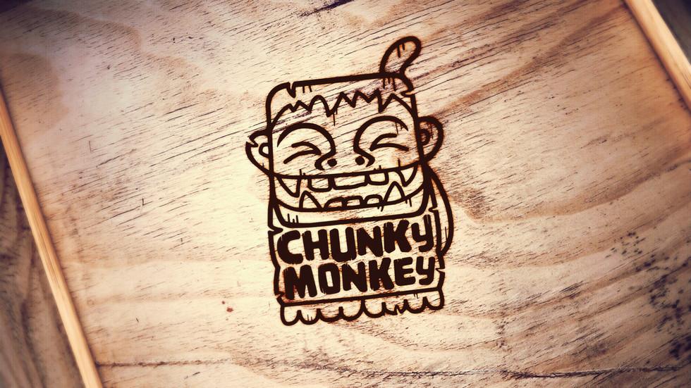chunky monkey logo