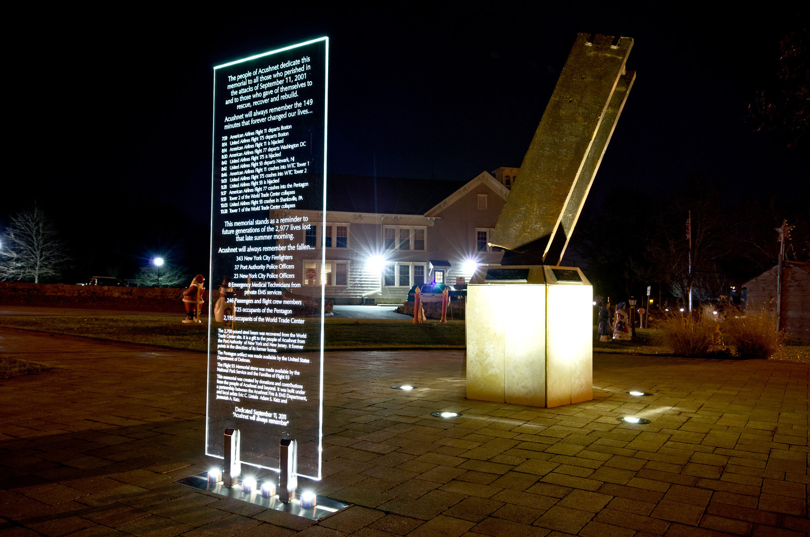 Acushne 9/11 Memorial