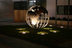 Globe at Clovis Veteran