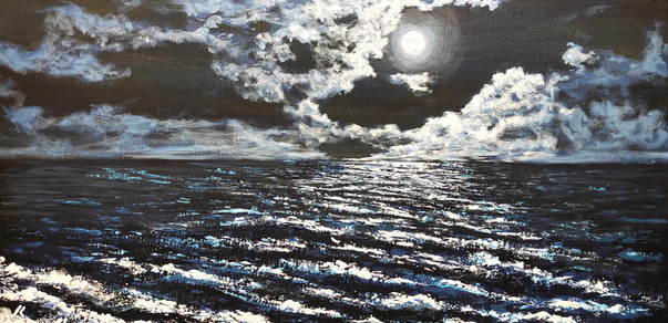 Il mare al far della sera
