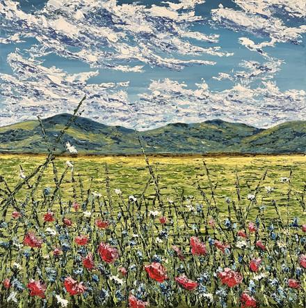 ...con coloriti flori et herba