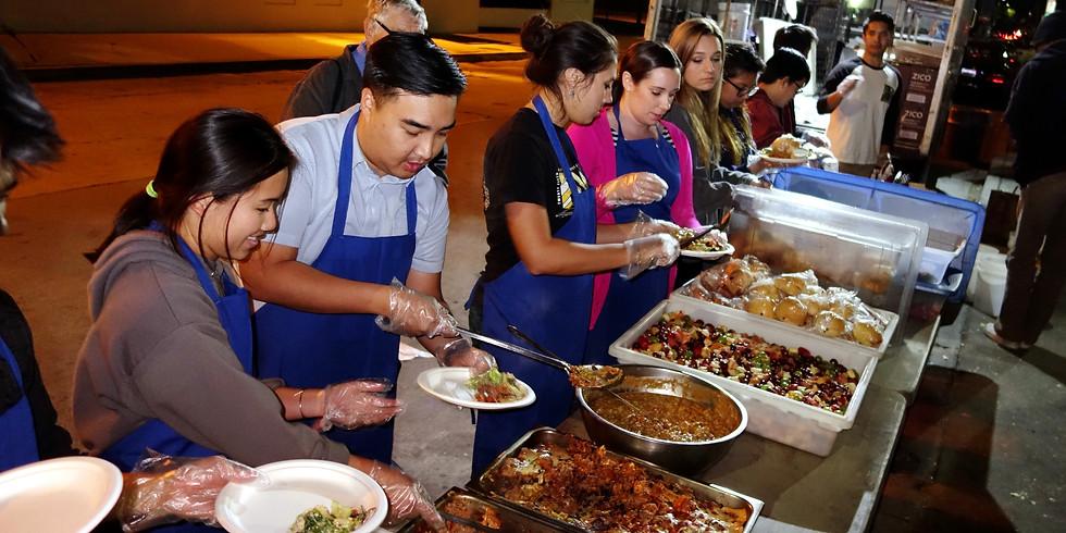 Thanksgiving Community Service Event