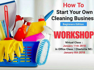 Class: Start Your Own Cleaning Business