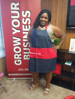 Apron made by Kathy Cuttino Member