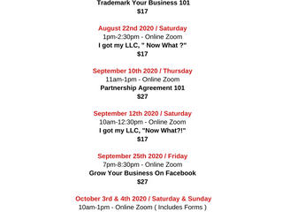 Are you ready to Level Up? Check Out Our Upcoming Classes!