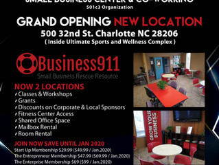 Grand Opening Event New Location December 3rd.