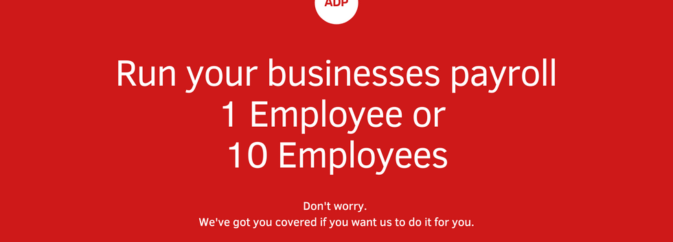 Run your own payroll or hire us!