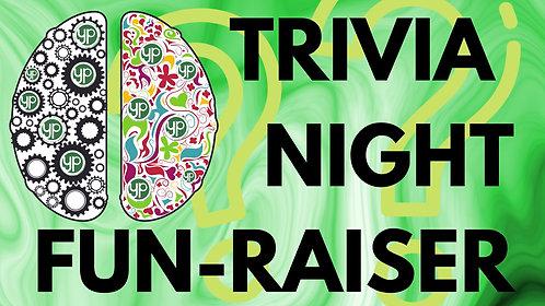 Trivia Night Fun-Raiser- 4 Person Team