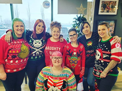 Ugly sweater day X-mas 2019