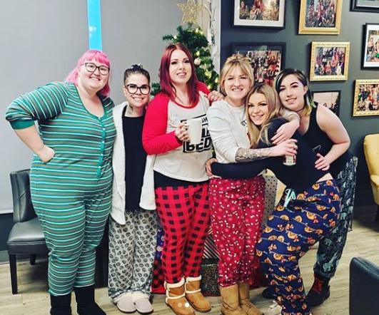 Pajama day X-mas 2019