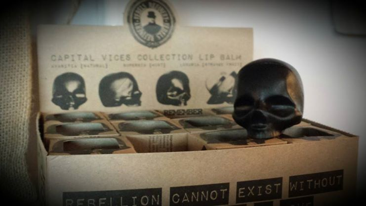 Rebel's Refinery Skull Lip Balm