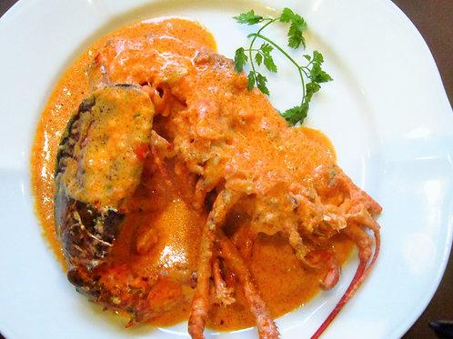 活オマール海老の有機トマトソース―要調理の冷凍商品です—(税・送料別)