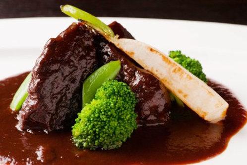 牛肉の赤ワイン煮―要調理の冷凍商品です—(税・送料別)