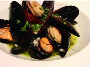 活ムール貝の白ワイン蒸―要調理の冷凍商品です—(税・送料別)