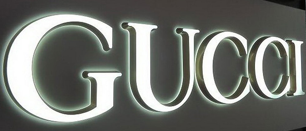 Personalized Double sides light acrylic led signs ultra light up letters