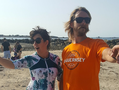 Day 8 - Seafront full of people, why Guernsey is putting on weight and small businesses