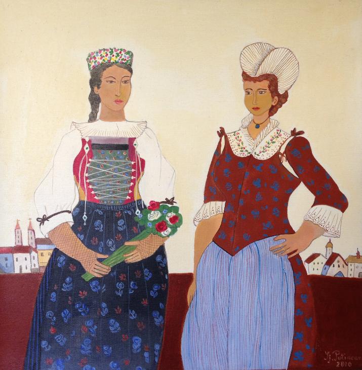 Zwei Innerschweizerinnen