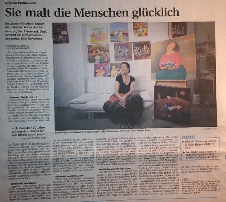 Interview in der Neuen Zuger Zeitung